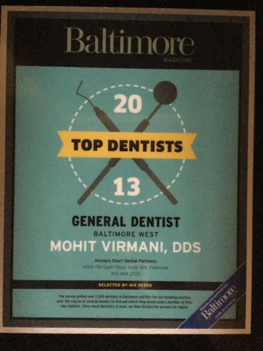 top dentist baltimore | best dentist pikesville