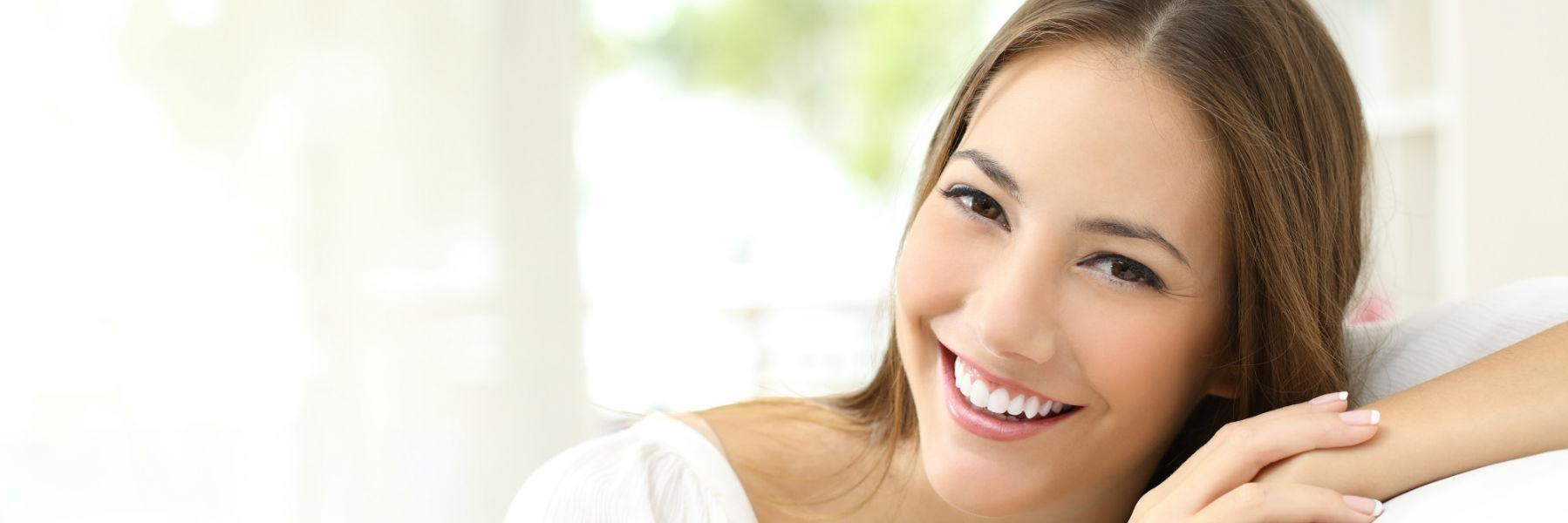 Young woman smiling l Zoom Whitening Pikesville MD